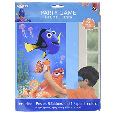 Party Game | Disney /Pixar Finding Dory Collection | Party Accessory: Toys & Games