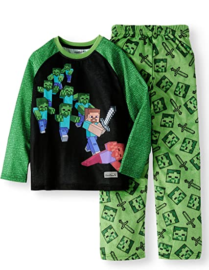Size S 4//5 Boys Lounge Pants Sleepwear  Minecraft