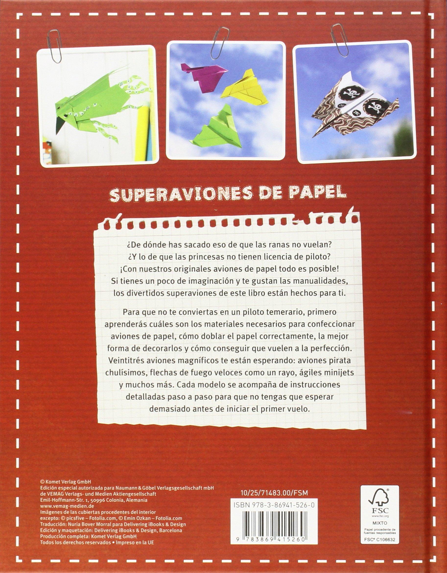 AVIONES DE PAPEL.(EXPERIMENTA DESCUBRE JUEGA): VARIOS: 9783869415260: Amazon.com: Books