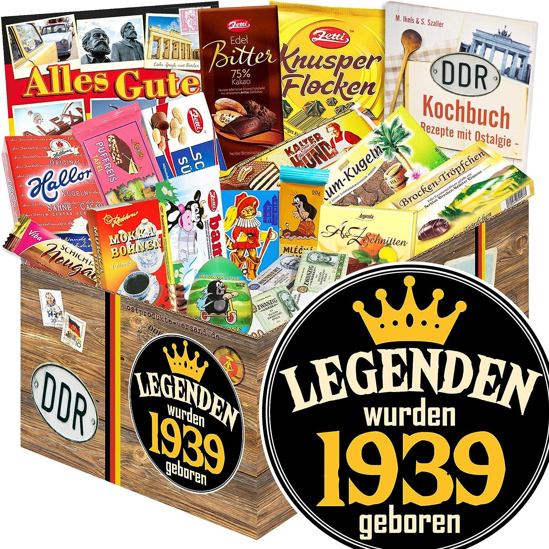 Geschenk Box XXL Legenden 1939 Geburtstagsgeschenk Mann 80