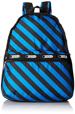 c4ffa33d0 Amazon.com: LeSportsac Basic Backpack, Ace Stripe, One Size: Shoes