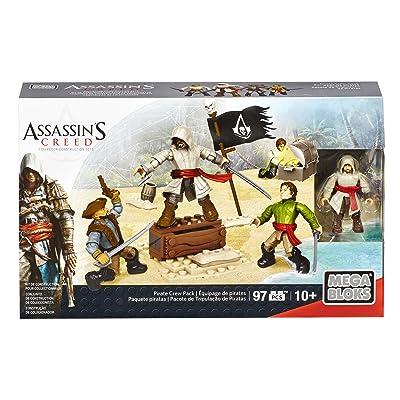 Assassin's Creed - Mega Bloks Pirate Crew Pack, Juego de construcción (Mattel CNK22): Juguetes y juegos