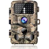 Campark Trail Camera 16MP 1080P Waterproof Hunting Camera Scouting Trail Cam for Wildlife Monitoring with 120°Detecting…