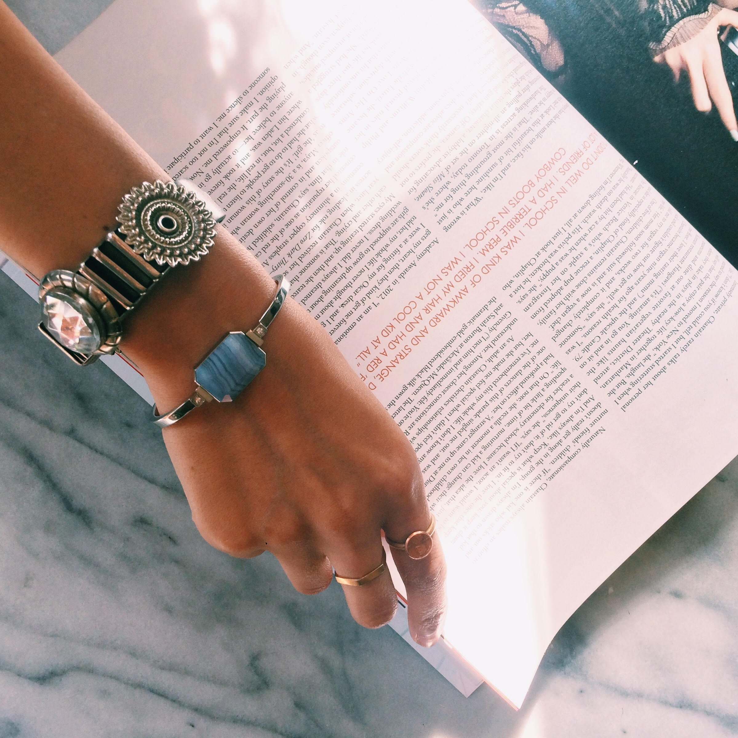 Ringly Luxe - Activity Tracker + Mobile Alerts + Meditation Smart Bracelet by RINGLY (Image #8)