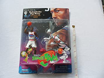 cheap for discount 3d068 144fd Image Unavailable. Image not available for. Colour  Space Jam Michael Jordan    Bugs Bunny Figures