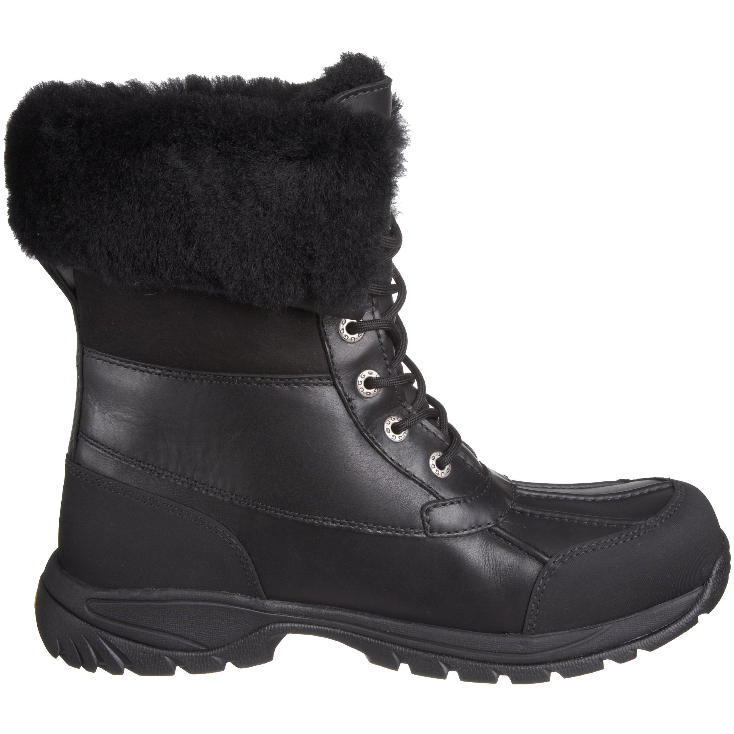 UGG Men's Butte Snow Boot, Black, 11 M US by UGG (Image #6)