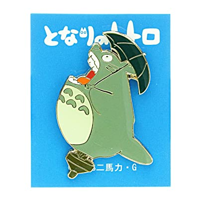 "Bark on pin badge ""-big Totoro Studio Ghibli T-04"