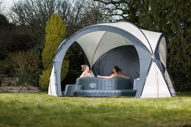 Lay-Z-Spa Hot Tub and Pool Gazebo Dome Enclosure