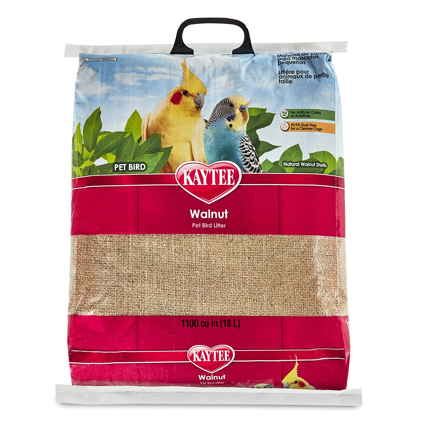 Kaytee Walnut Bedding and Litter Pad for Pets 25-Pound 100032081