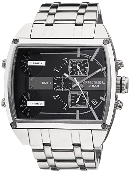 Amazon.com: Diesel Mens DZ7324 Analog Display Analog Quartz Silver Watch: Diesel: Watches
