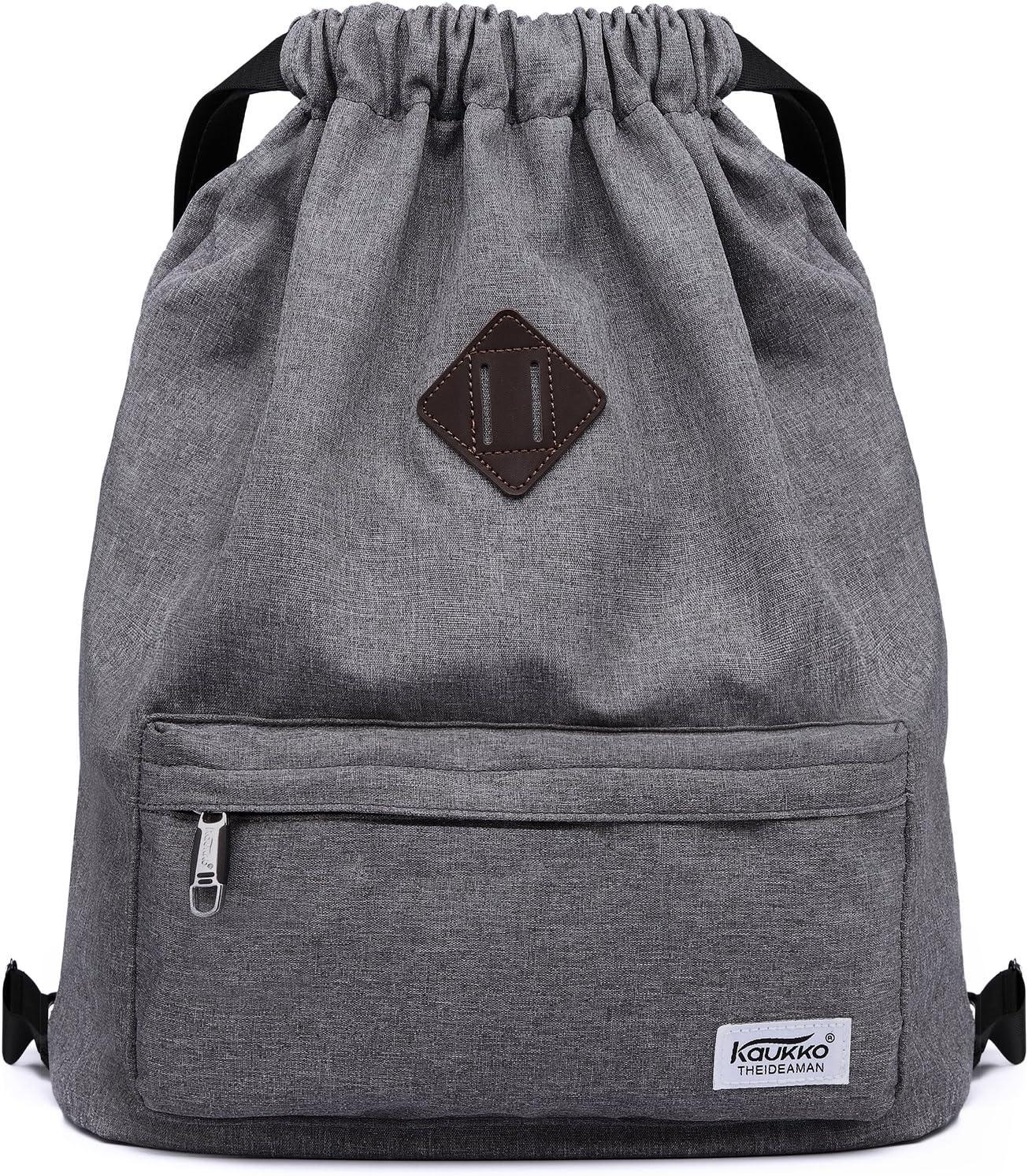 Drawstring Backpack Galaxy Cross Gym Bag