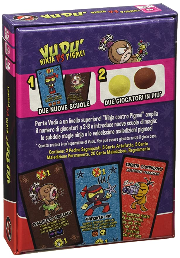 Amazon.com: Red Glove – Ninja Vs Pygmies, Expansion for vudù ...