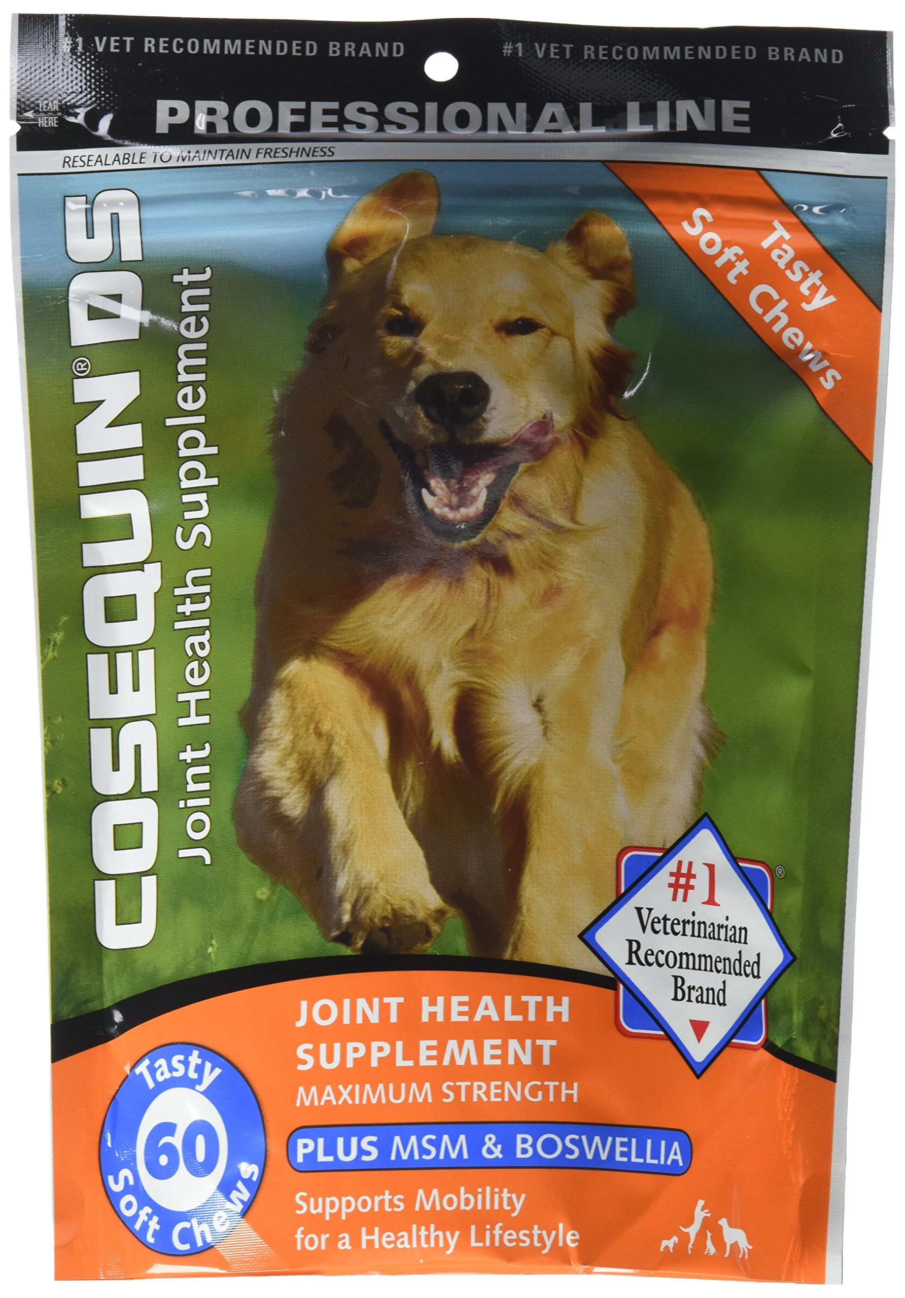 Cosequin DS Joint Health Supplement Plus MSM, 60 Count