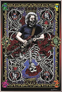 product image for Jerry Card Poster (24x36) (Silver Metal Frame)