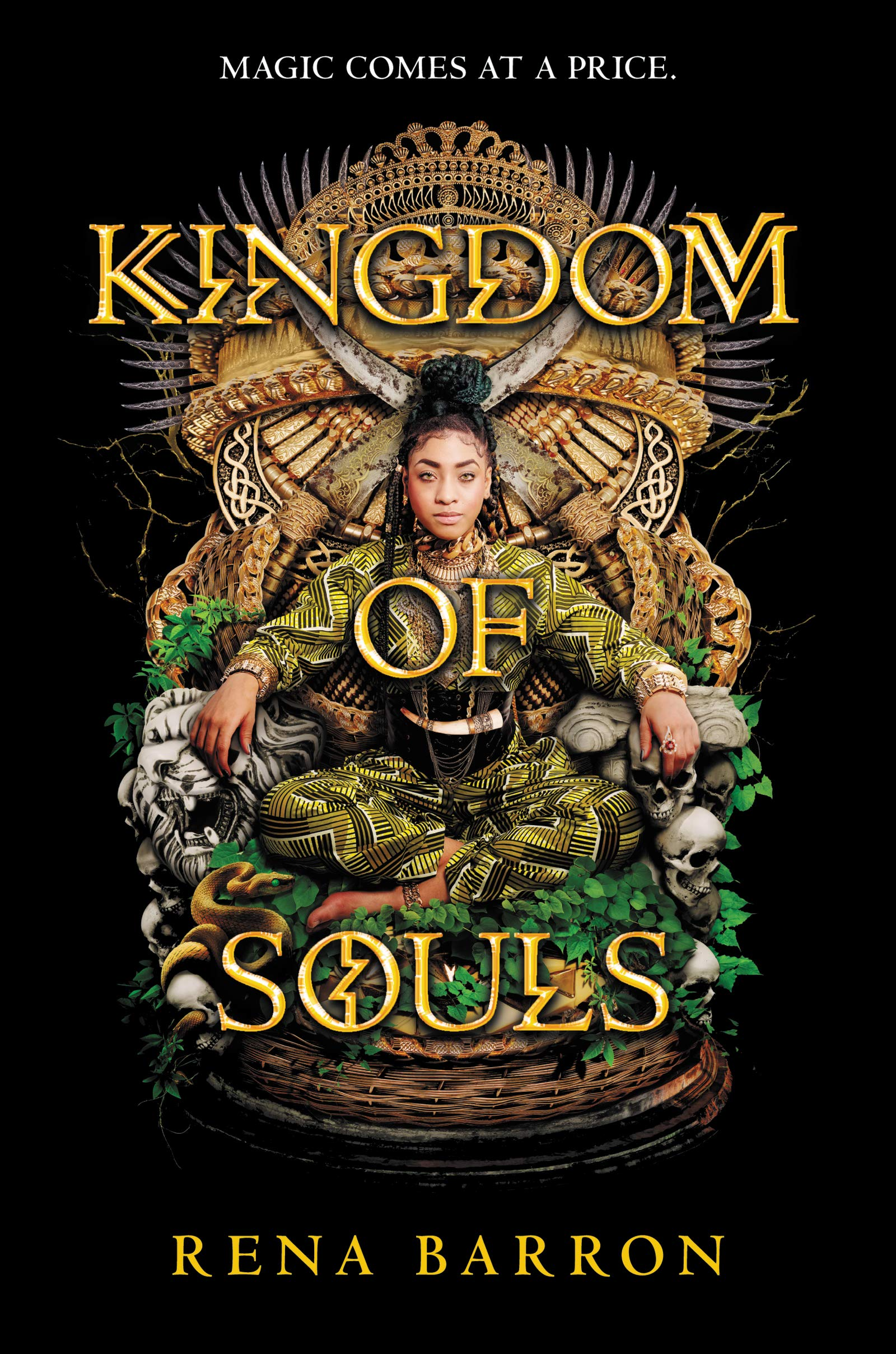 Amazon.com: Kingdom of Souls (9780062870957): Barron, Rena: Books