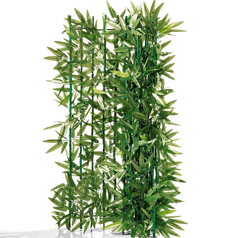 Balkon-sichtschutz Bambus - Zuschneidbar - Grün 3 X 1 M: Amazon.de ... Balkon Pflanzen Blumen Sichtschutz