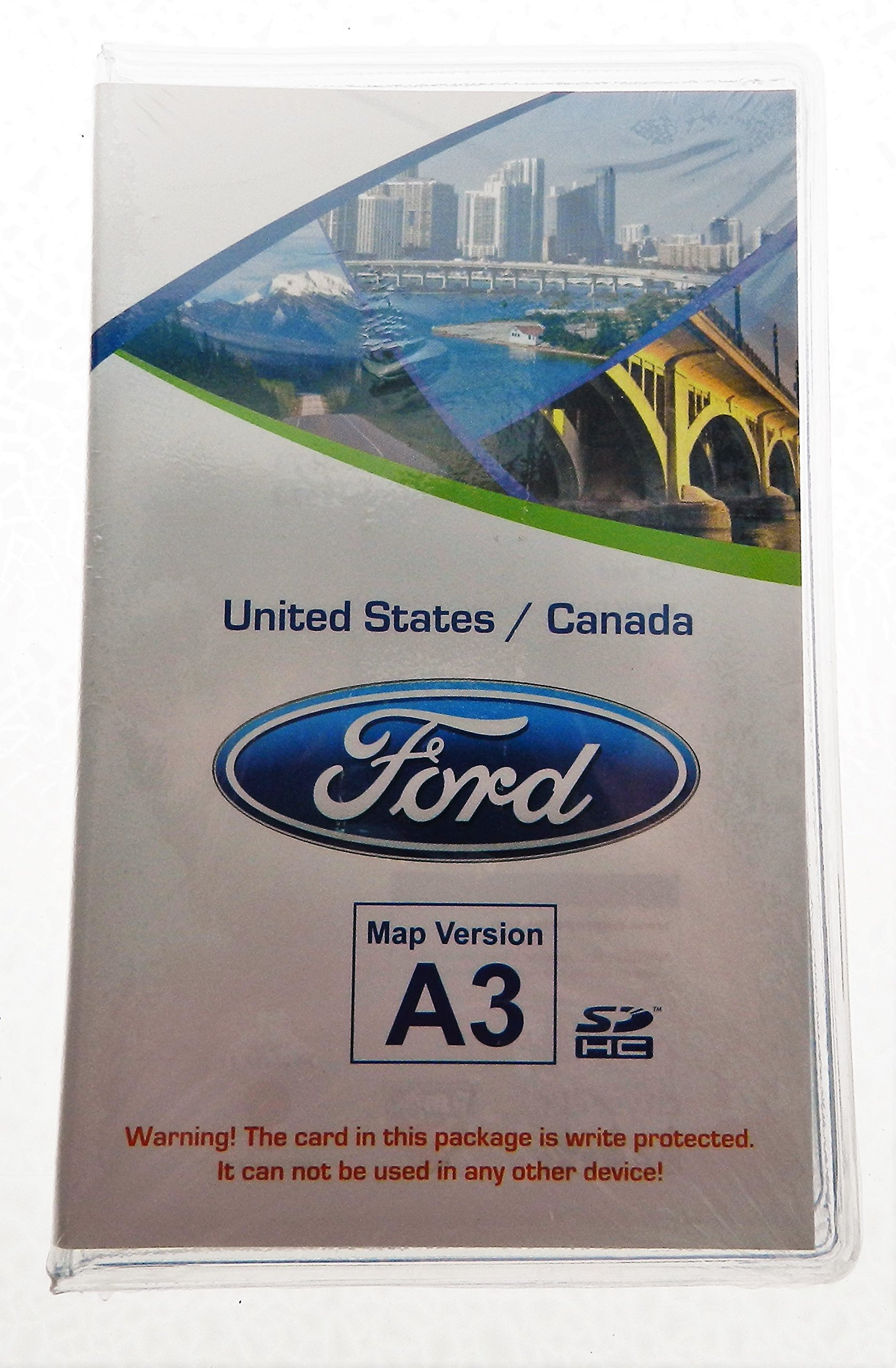 A3 Ford lincoln Navigation SD card Map Chip , SYNC MyFord Touch ,fits 12,13,14 15 Focus Fusion Fiesta C-Max Mustang Taurus Edge Explorer escape F150 & F250 CT4T-19H449-AB