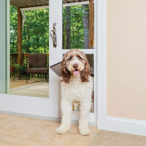 Best dog door for sliding glass doors: PetSafe Freedom Aluminum Patio Panel Sliding Glass Pet Door for Dogs and Cats