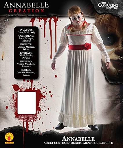 X-Large The Conjuring Horror Film Rubie/'s Official Adult Annabelle Costume