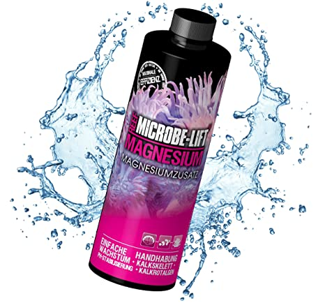 Microbe-Lift 9054S - Magnesio adicional para acuario de agua salada, talla S