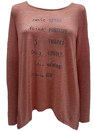 028be4ce2f492 TOM TAILOR Damen Shirt mit U-Boot-Ausschnitt in 2 Farben: Amazon.de ...
