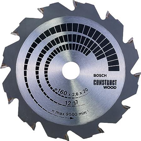 12 160 x 16 x 2,4 mm Grey Bosch Professional 2608640784 Lame