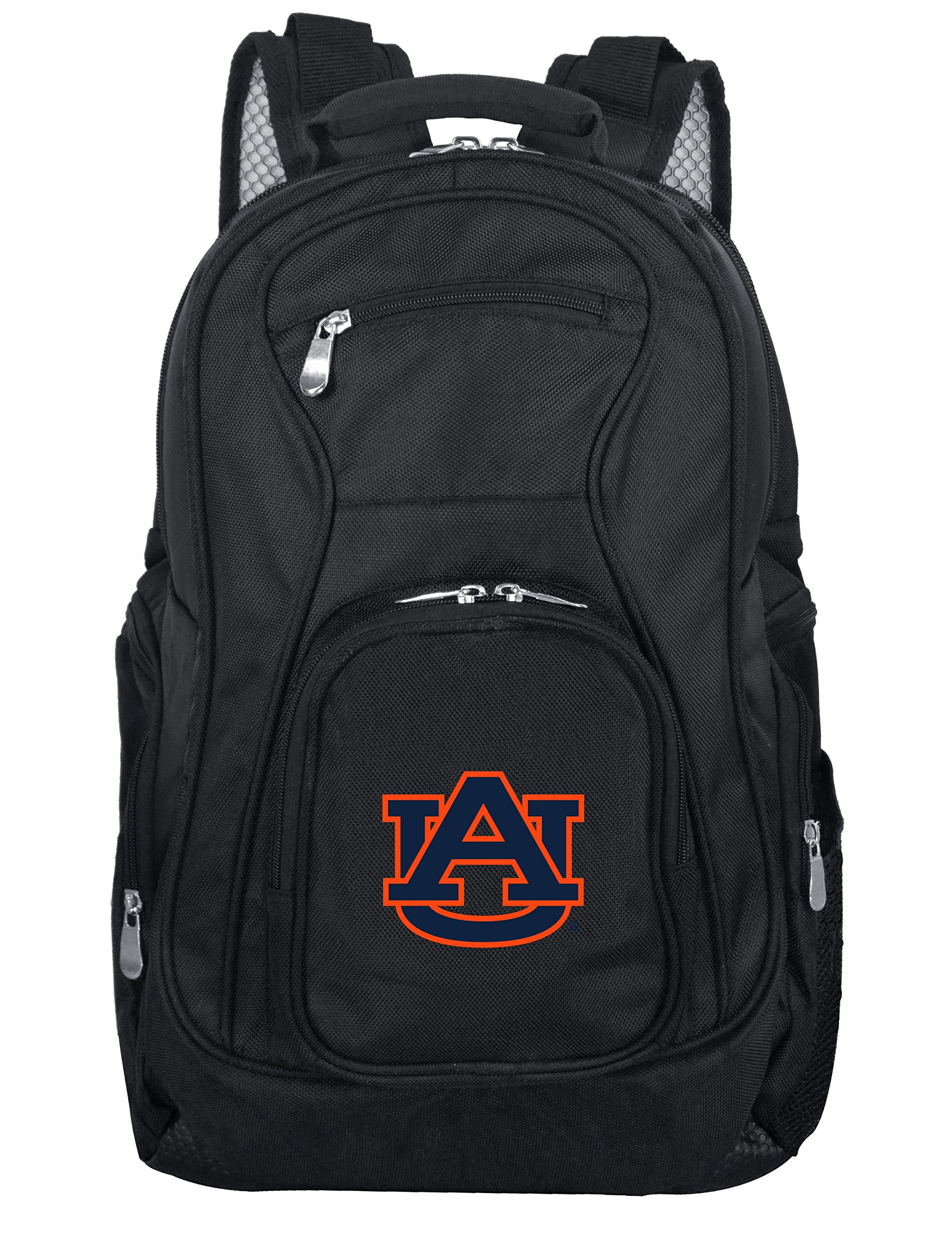 Denco NCAA Auburn Tigers Voyager Laptop Backpack, 19-inches, Black