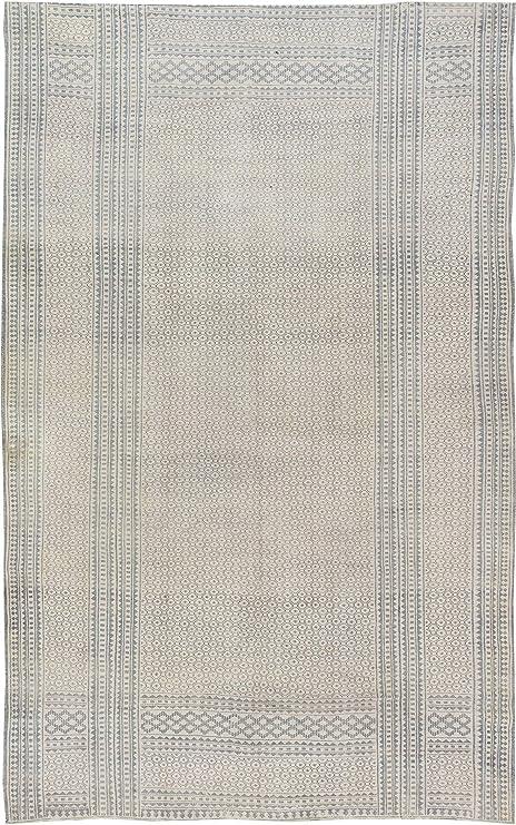Amazon.com: Alfombra de tejido plano de algodón indio ...