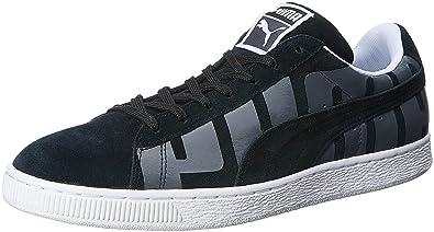 8876d813d518 Puma Men s Suede Classic + Big Logo Black
