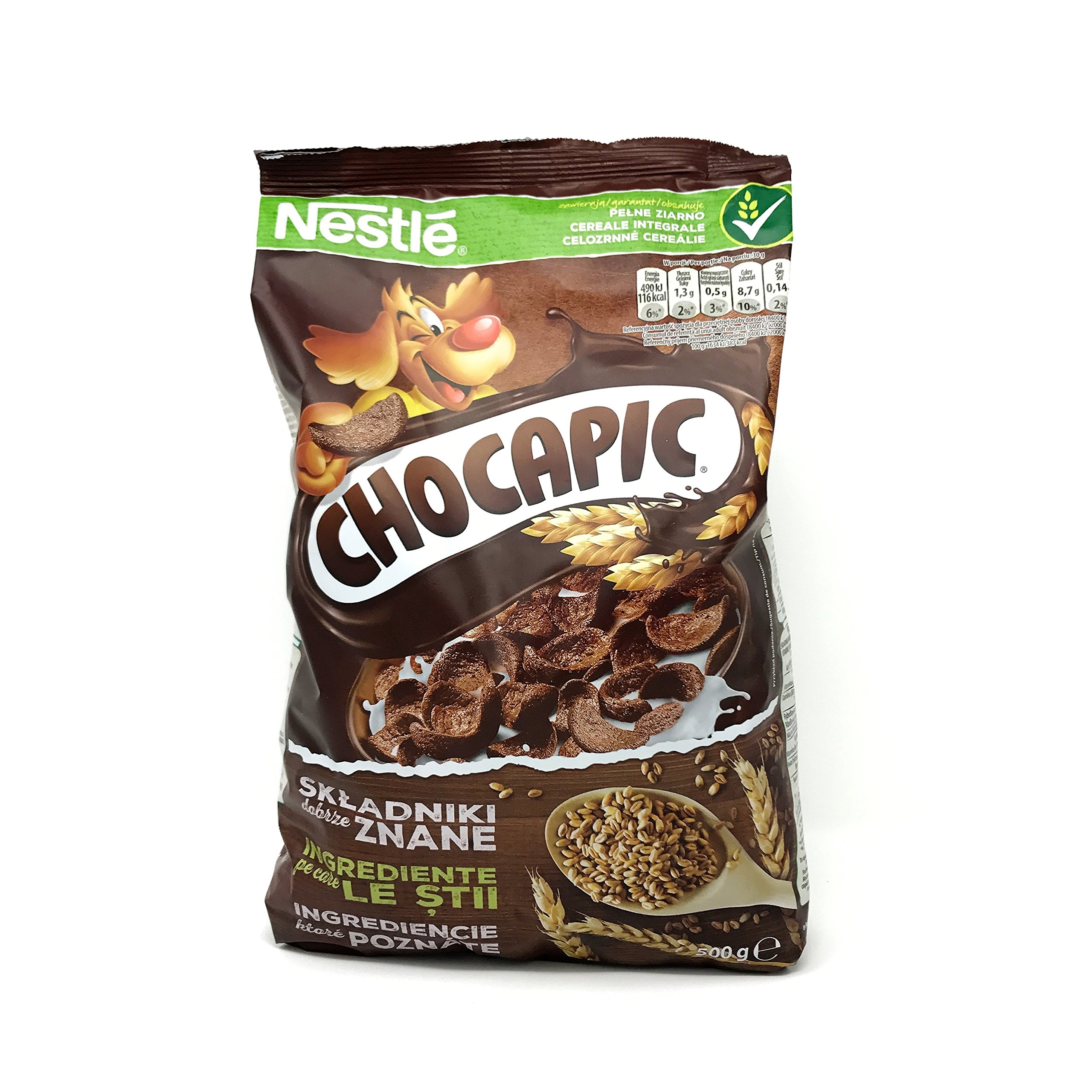 Nestle Chocapic Wholegrain Chocolate Cereal (500g/17.63oz)