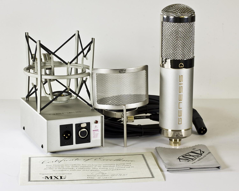 Amazon.com: MXL Genesis HE Heritage Edition Tube Microphone: Musical ...