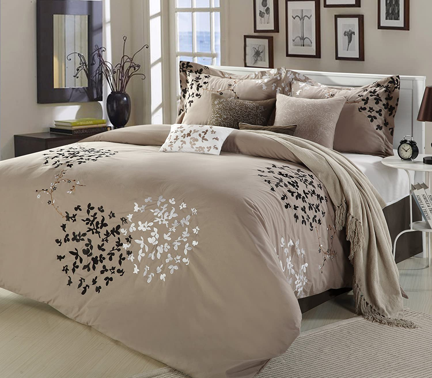 la ohlala comforters oh bedroom piece set queen reversible comforter sets