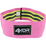 Hip Band by 4KOR Fitness- Resistance Loop Circle Perfect for Dynamic Warm-Ups and Activating Hips and Glutes
