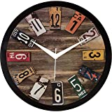 IT2M 11.75 inch Wall Clock - Vintage French Design (9085)