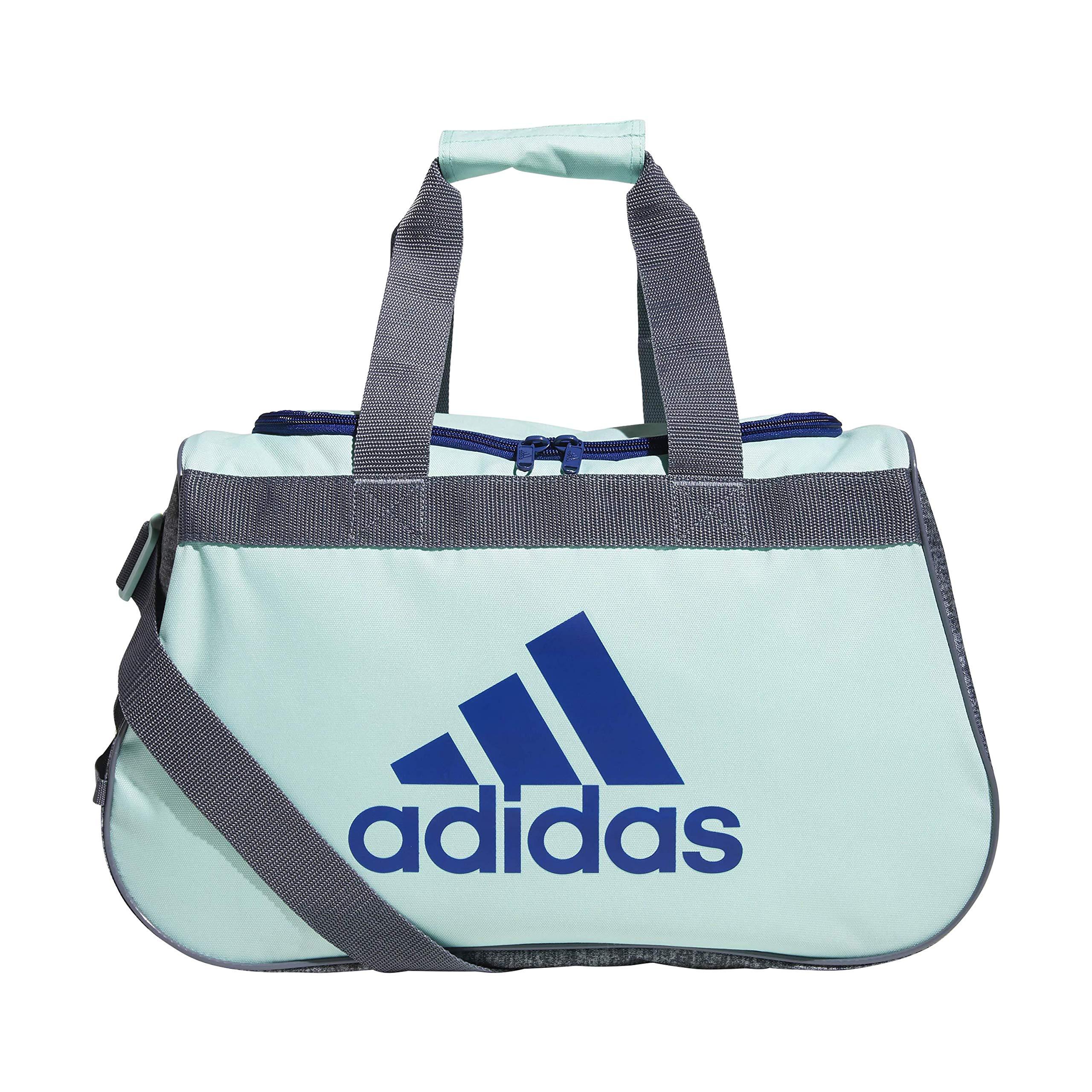 adidas Unisex Diablo Small Duffel Bag, Clear Mint Green/Mystery Ink Blue/Onix/ Onix Jerse, ONE SIZE by adidas