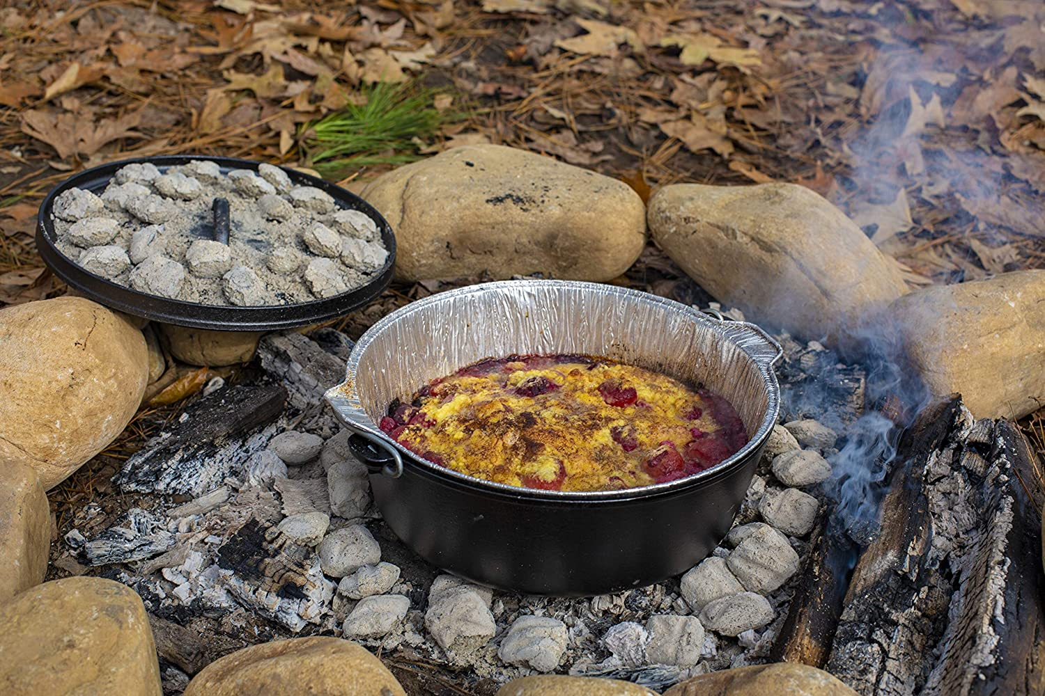 Lodge Dutch Oven Liner 3-Pack silber