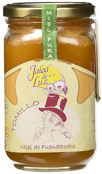 Jalea de Luz Miel Cruda Pura de Tomillo - 500 gr.: Amazon.es ...