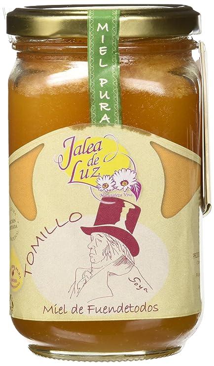 Jalea de Luz Miel Cruda Pura de Tomillo - 500 gr.: Amazon.es: Alimentación y bebidas