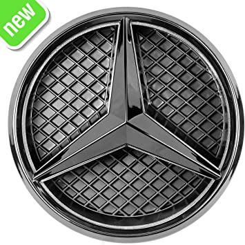 Mirror Car Led Logo Emblem Grille Light For Mercedes Benz Twist Type