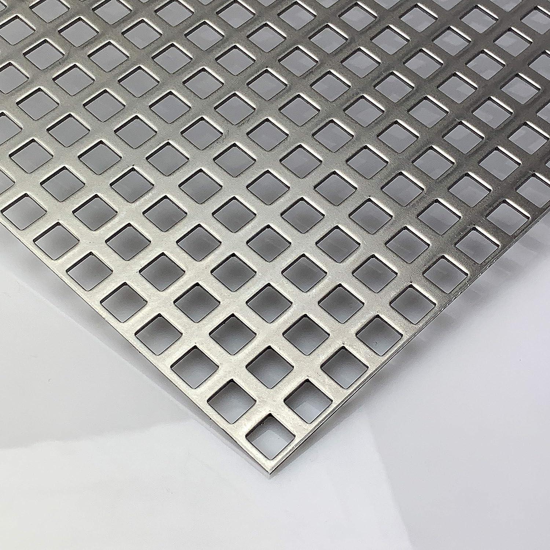 Lochblech Aluminium Rundlochung RG 20-50 pulverbeschichtet in RAL 9016