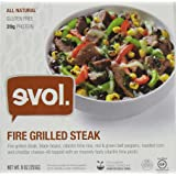 Evol Fire Grilled Steak Bowl 9 Ounce (Pack of 12)