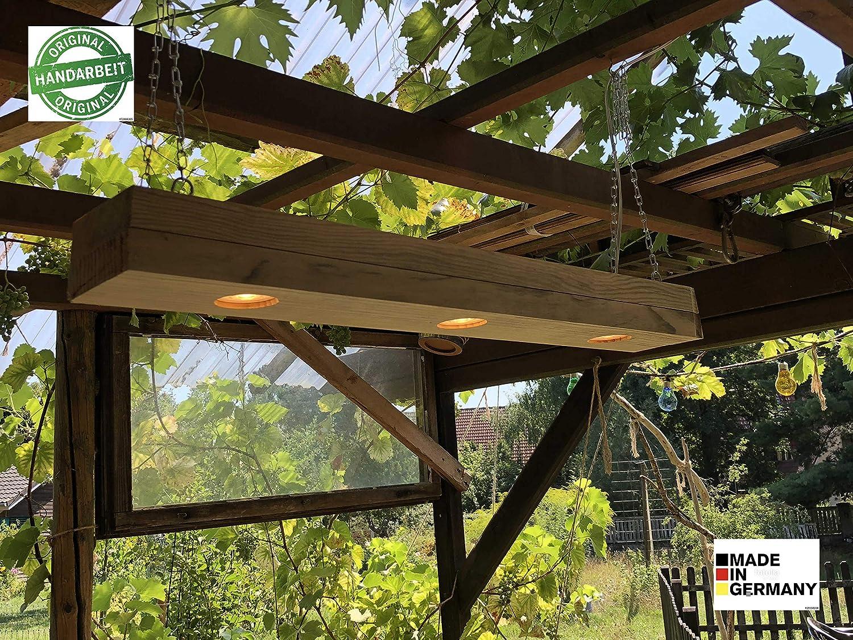 Rústica Lámpara de techo colgante Madera Tiempo Los Diseño Moderno: Amazon.es: Iluminación