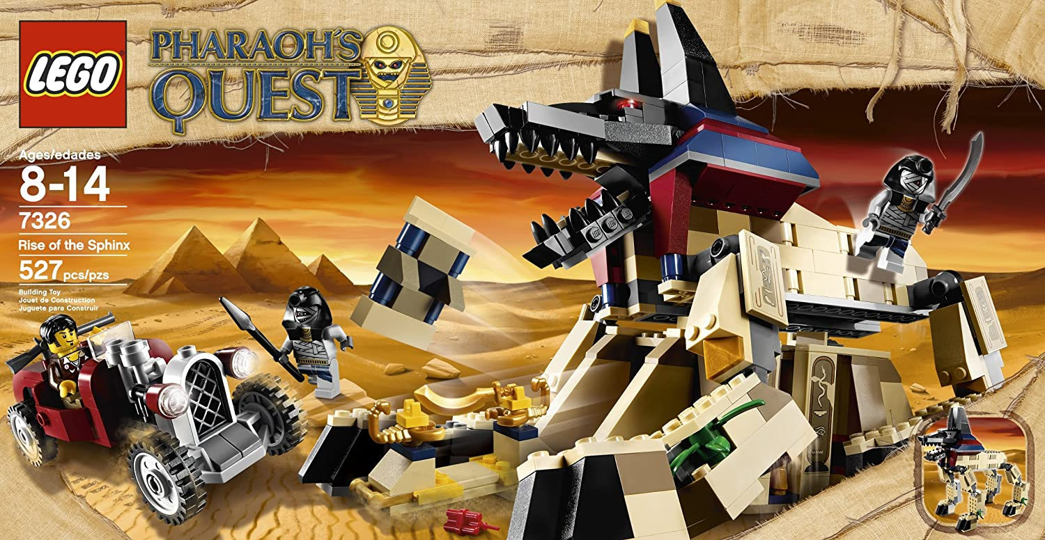 LEGO Pharaohs Quest Rise of the Sphinx 7326 4611561
