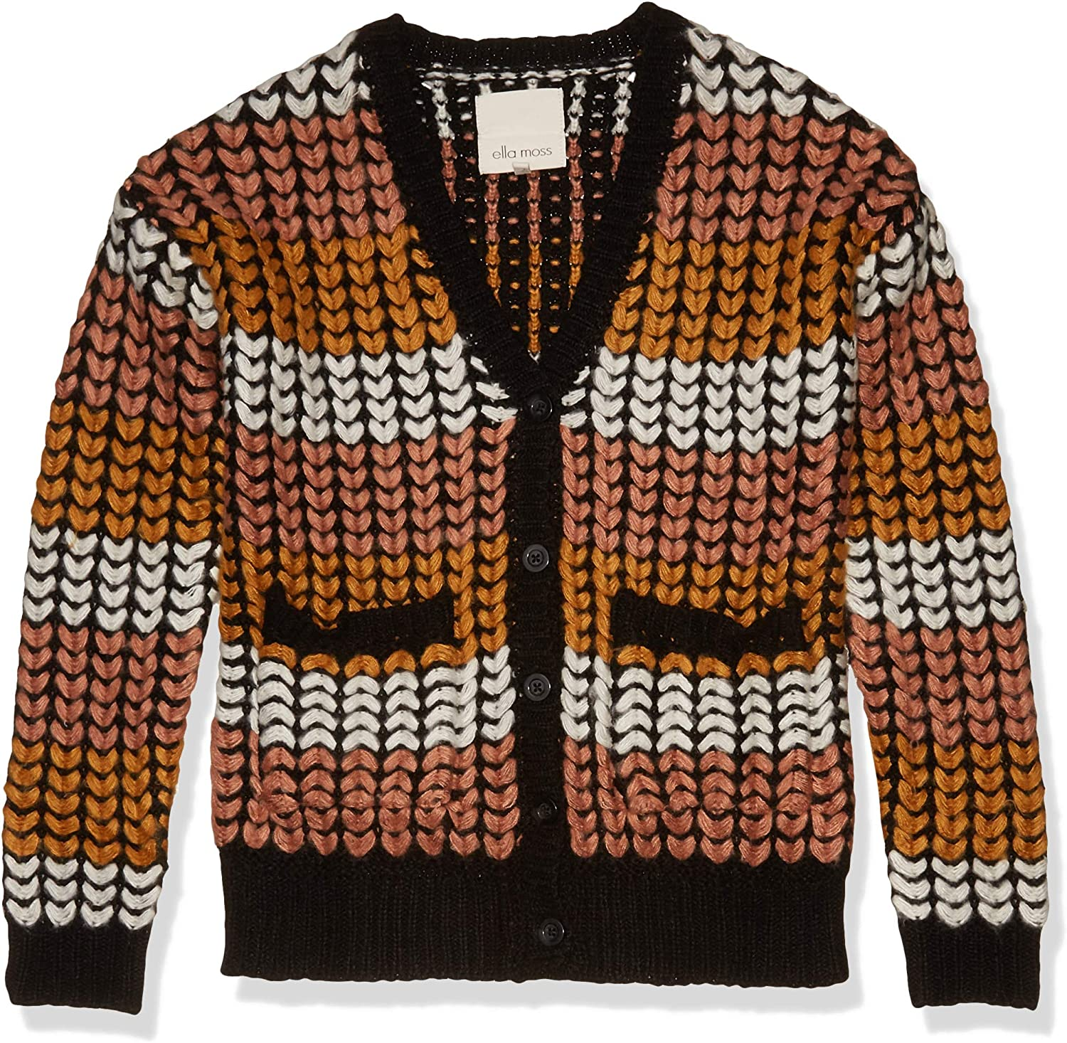 Ella Moss Women's Elyse Challenge the Miami Mall lowest price of Japan Comfort Cozy Sweate Down Cardigan Button