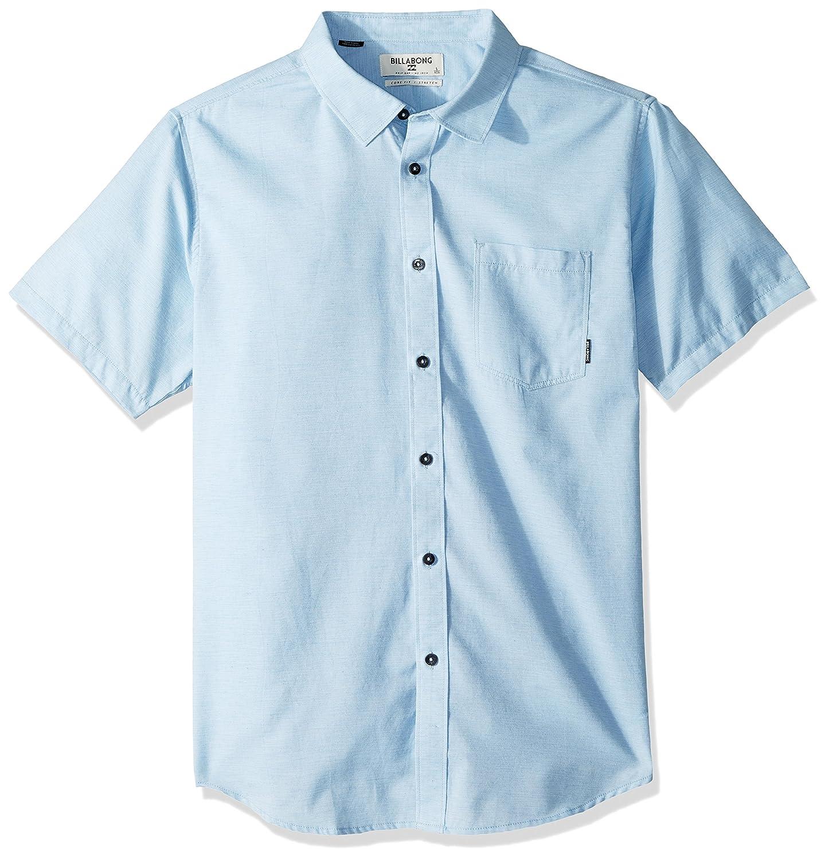 Billabong Mens All Day Helix Short Sleeve Shirt