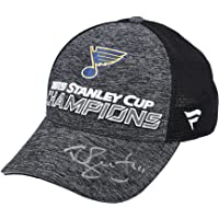 $55 » Robert Bortuzzo St. Louis Blues Autographed 2019 Stanley Cup Champions Fanatics Locker Room Cap - Fanatics Authentic Certified
