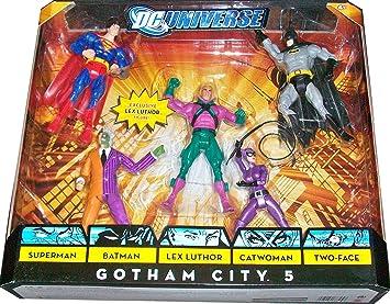 DC Universe Classics Exclusive Action Figure 5-Pack Gotham City 5 ...