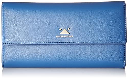 Emporio Armani Large Wallet with Flap Closure b06dbdd4bad3e