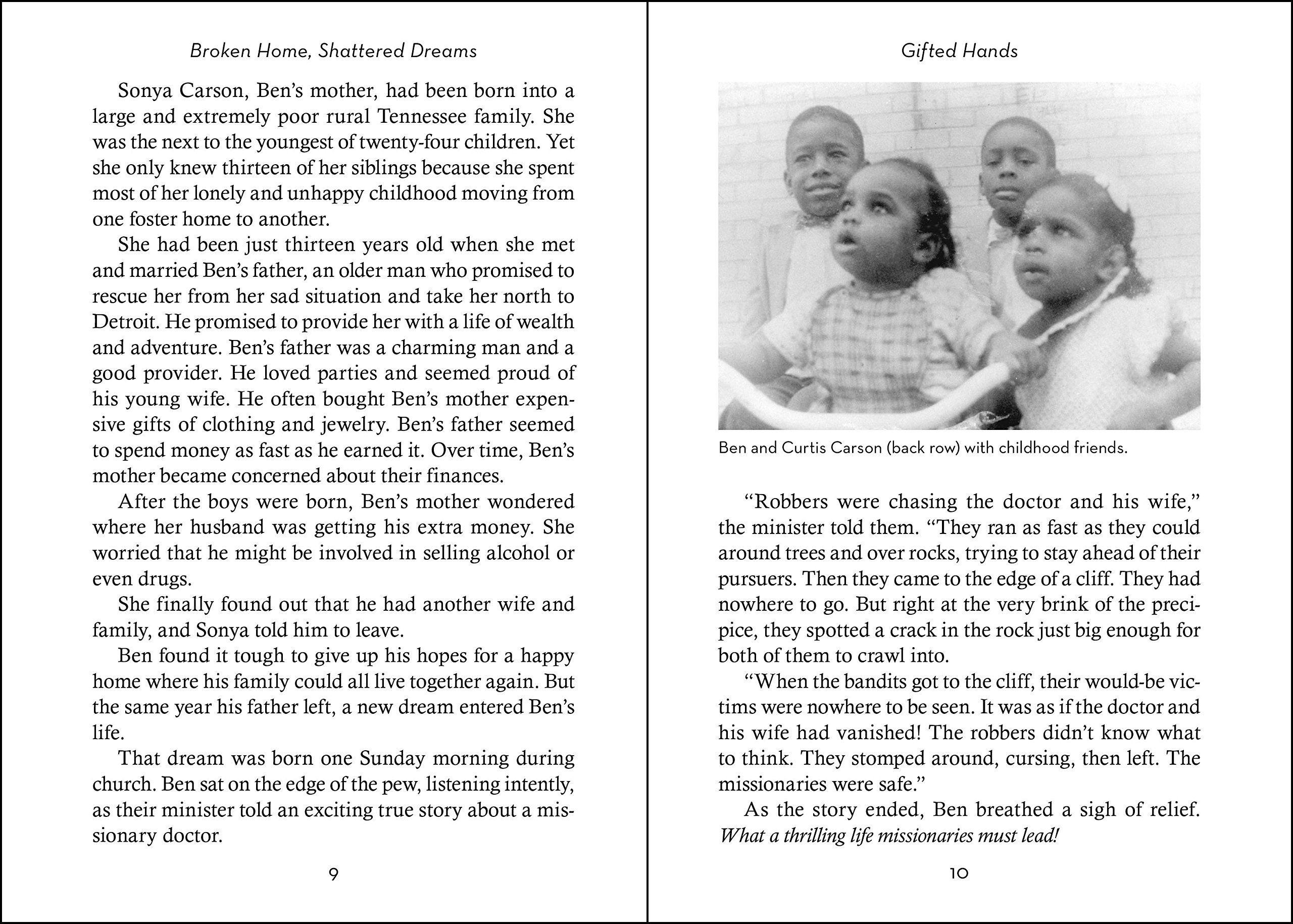 Gifted Hands Revised Kids Edition The Ben Carson Story Zonderkidz