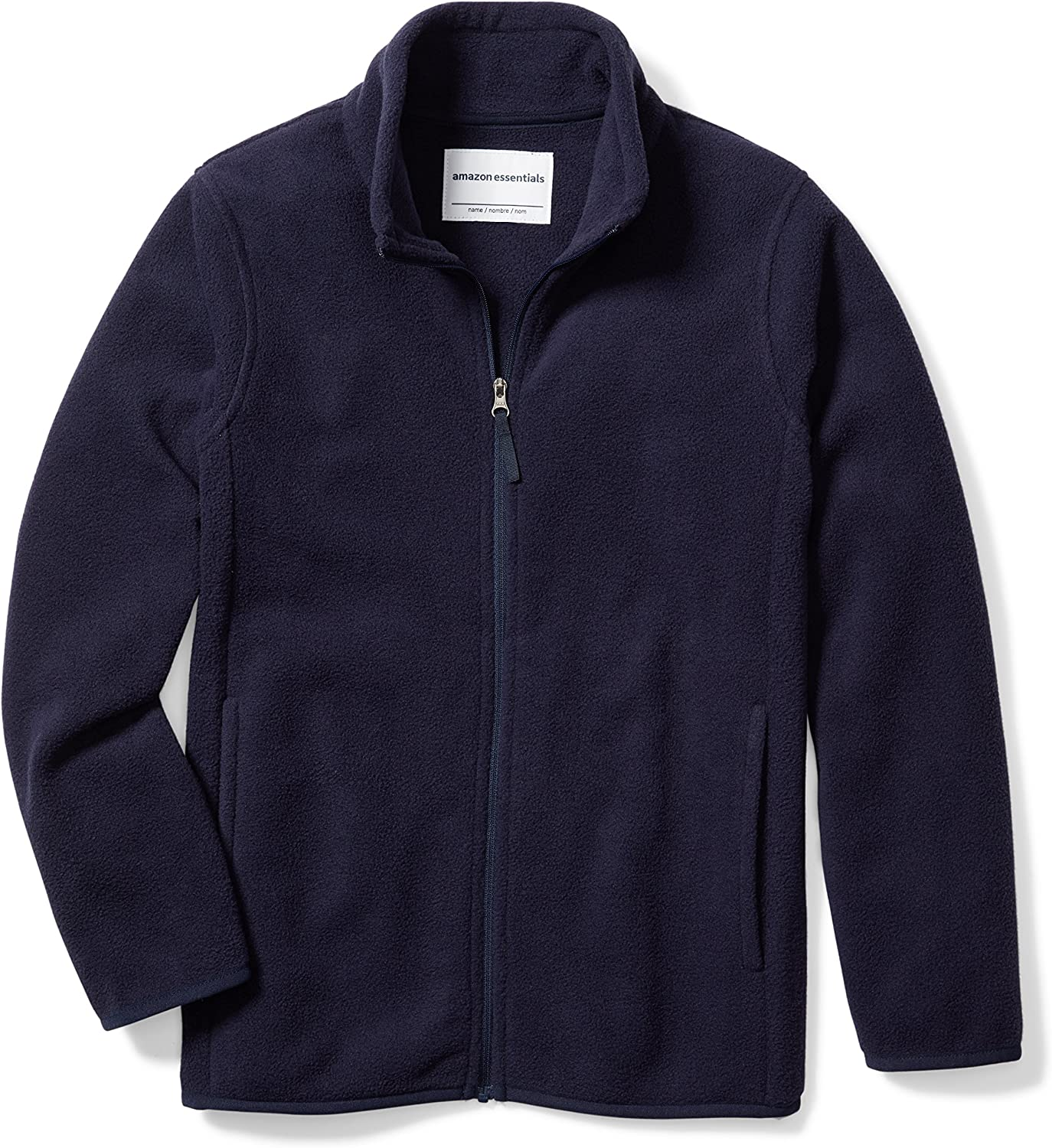 Amazon Essentials Boy's Polar Fleece Full-Zip Jackets